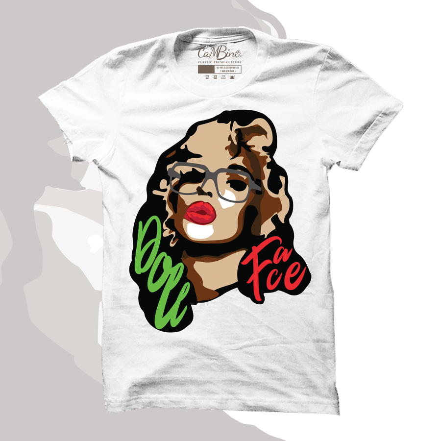Image of DOLLFACE FONT HEAD TEE