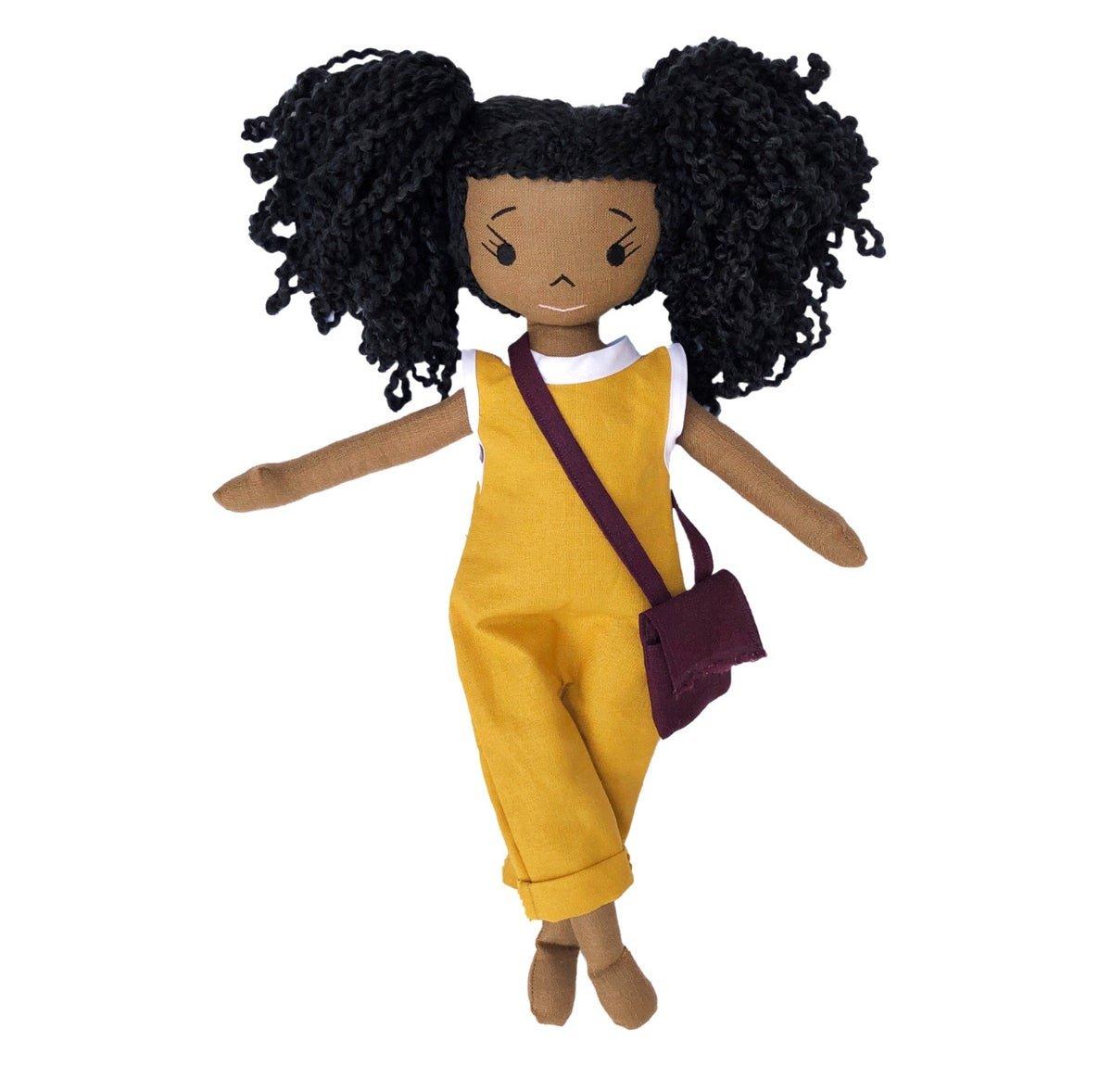 Lulu Handmade Linen Doll (Waitlist Preorder Item - ship date Oct 1-Mar 30,2022)