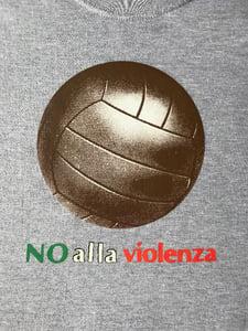 Image of Big Ball No Alla Violenza Grey Marl T