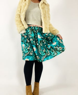 Ready Made Folk Elephant Laura Skirt with Pockets and free postage