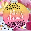 Party Animal - Raised Embosser