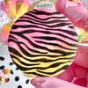Zebra Print- Raised Embosser