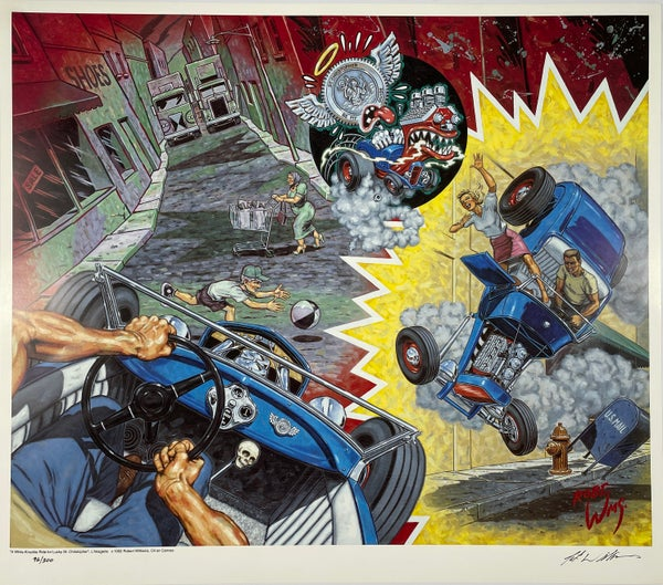 Image of Robert Williams - A White-Knuckle Ride for Lucky St. Christopher