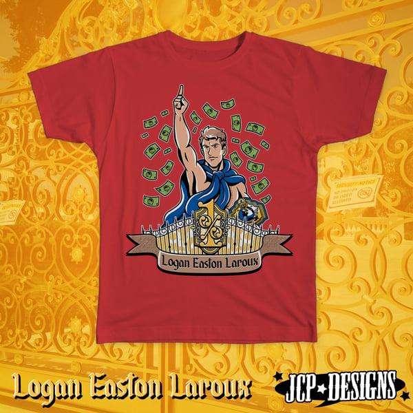"Image of Logan Easton Laroux ""Money Rain"" T-Shirt"