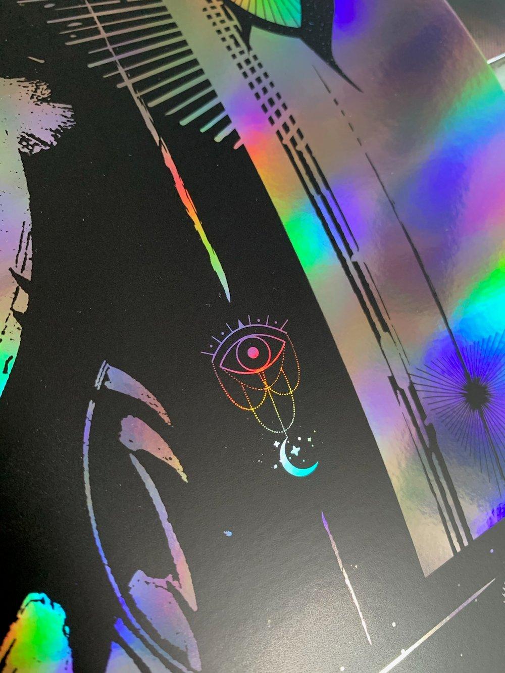 Tedeschi Trucks Special Edition Rainbow Foil Poster - Maryland