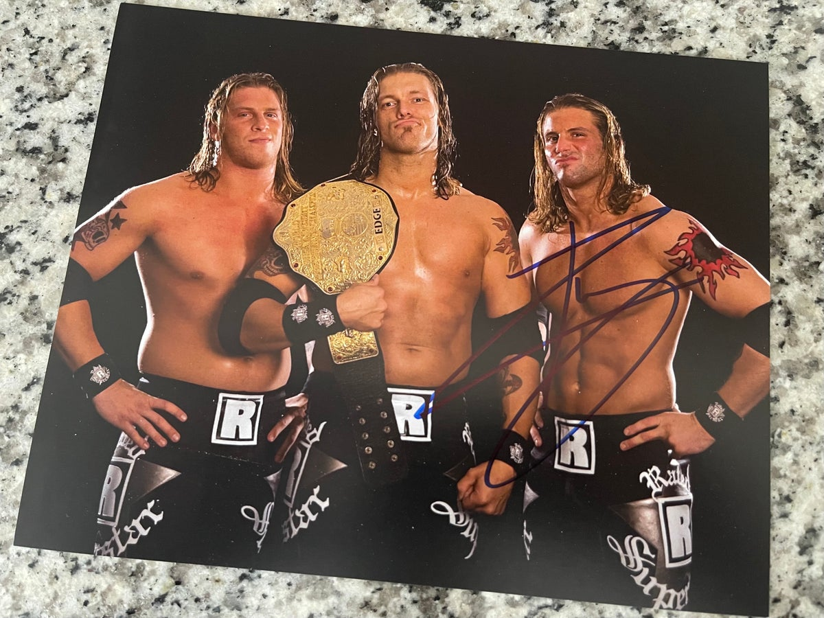 EDGEHEADS AUTOGRAPHED 8x10