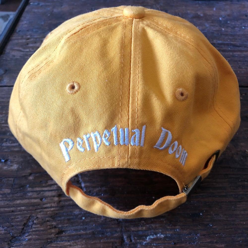 DOOMER CAP W/ ADJUSTABLE BUCKLE CLOSURE (GOLDENROD)