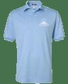 Lite Blue AWK Logo Polo