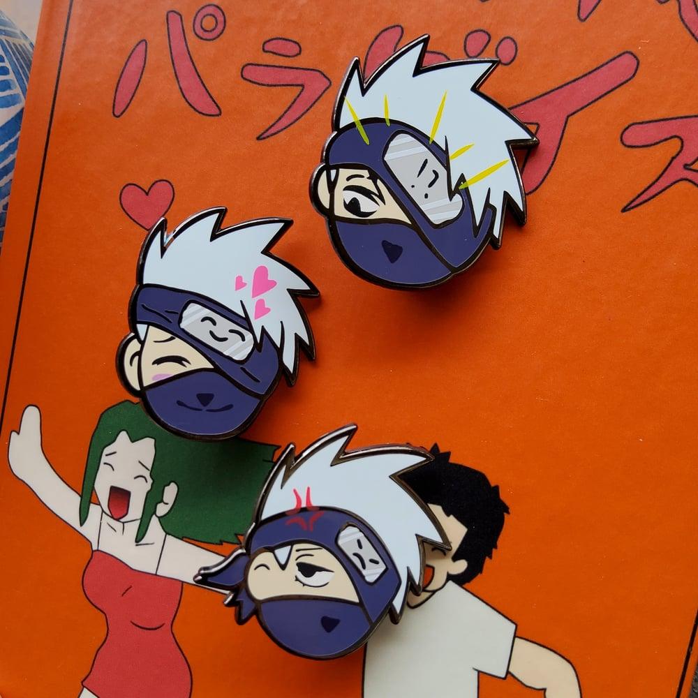 Image of Emo Copy Ninja - 3 Pin Set