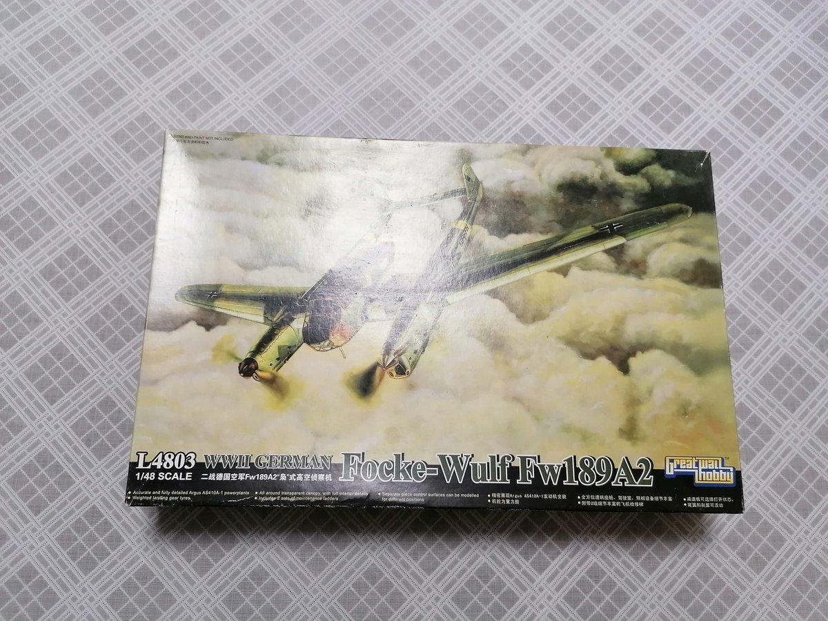 Image of L4803 WW2 GERMAN FOCKE-WULF FW189A2 1/48