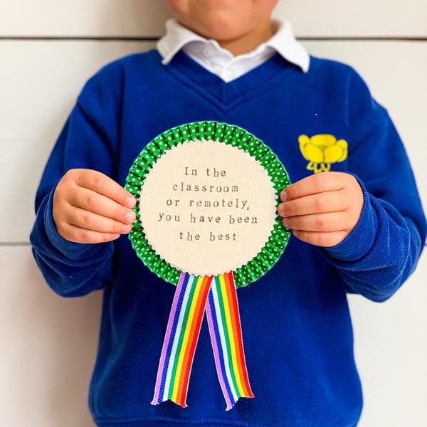 Image of Teacher Medal