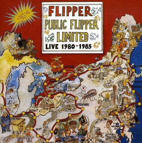 Image of FLIPPER - Public Flipper Limited: Live 1980-85 2xLP