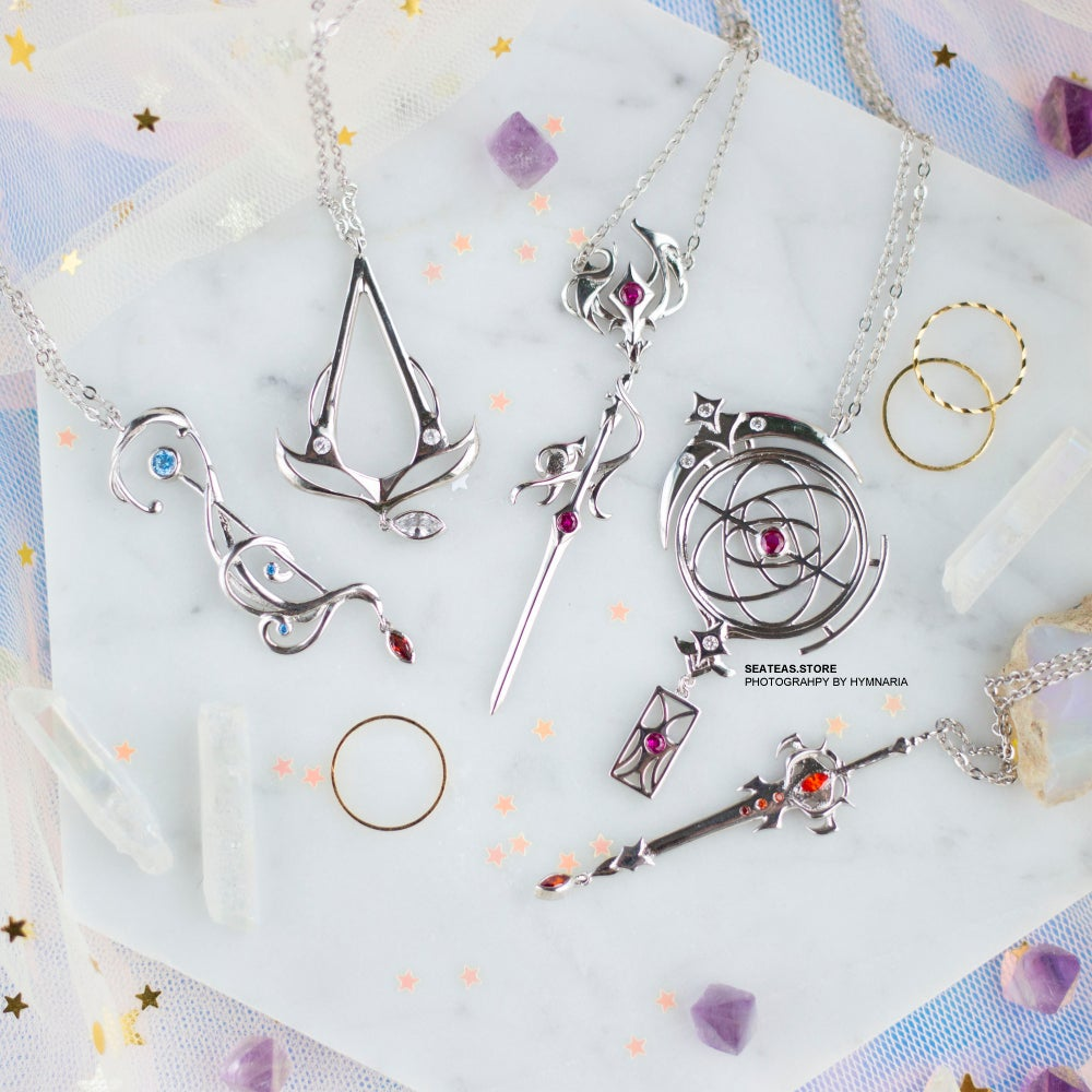 Image of [NEW JOBS ADDED! - PREORDER] FFX|V Job Necklace