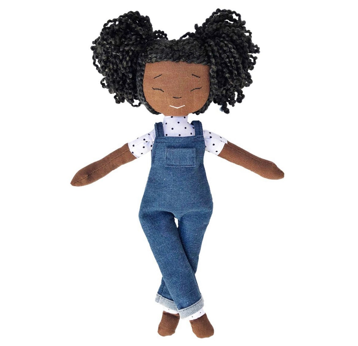 Haley Handmade Linen Doll (THIS ITEM WILL SHIP ON OR BEFORE OCTOBER 10th)
