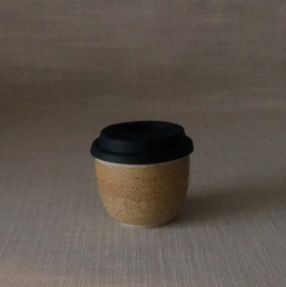 Image of EARTHY ORANGE SMALL TRAVEL CUP