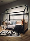 TWIN SIZE BED 39''x75'' with bed rails  Teo Beds free' shipping