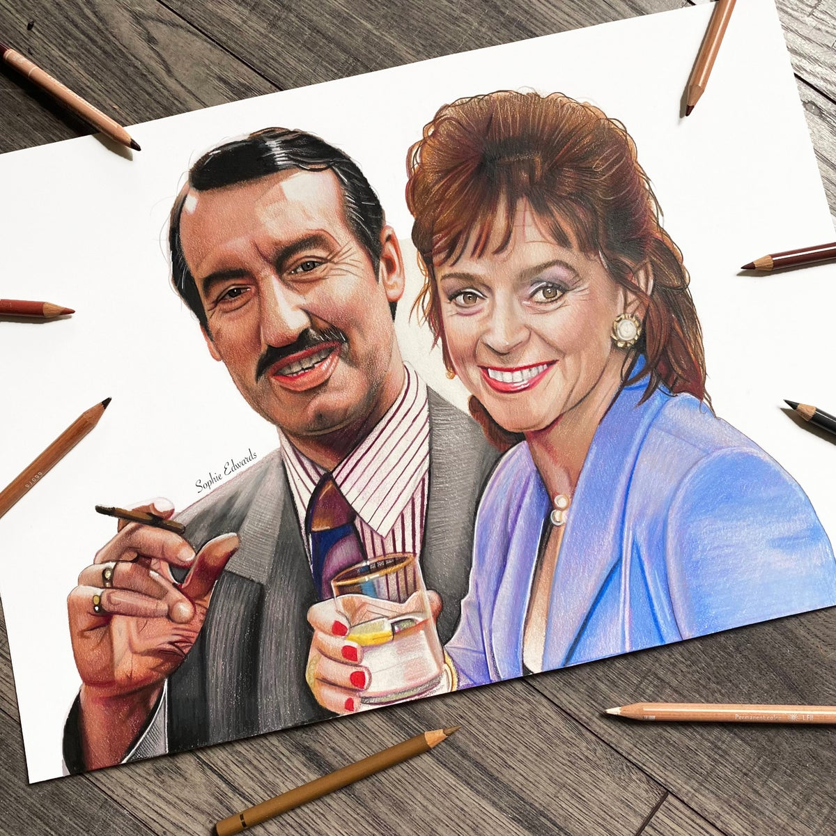 Image of Boycie & Marlene (Only Fools and Horses)