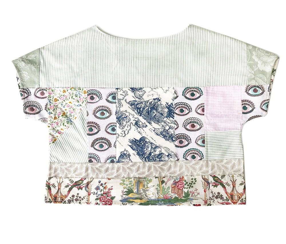 Image of Sarah Kay & floral patchwork top
