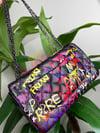 """""""Midnight"""" Graffiti Handbag"""