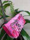 """Strawberry"" Graffiti Handbag"