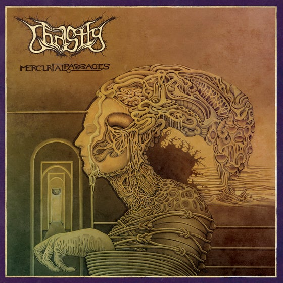 Image of Ghastly - Mercurial Passages LP