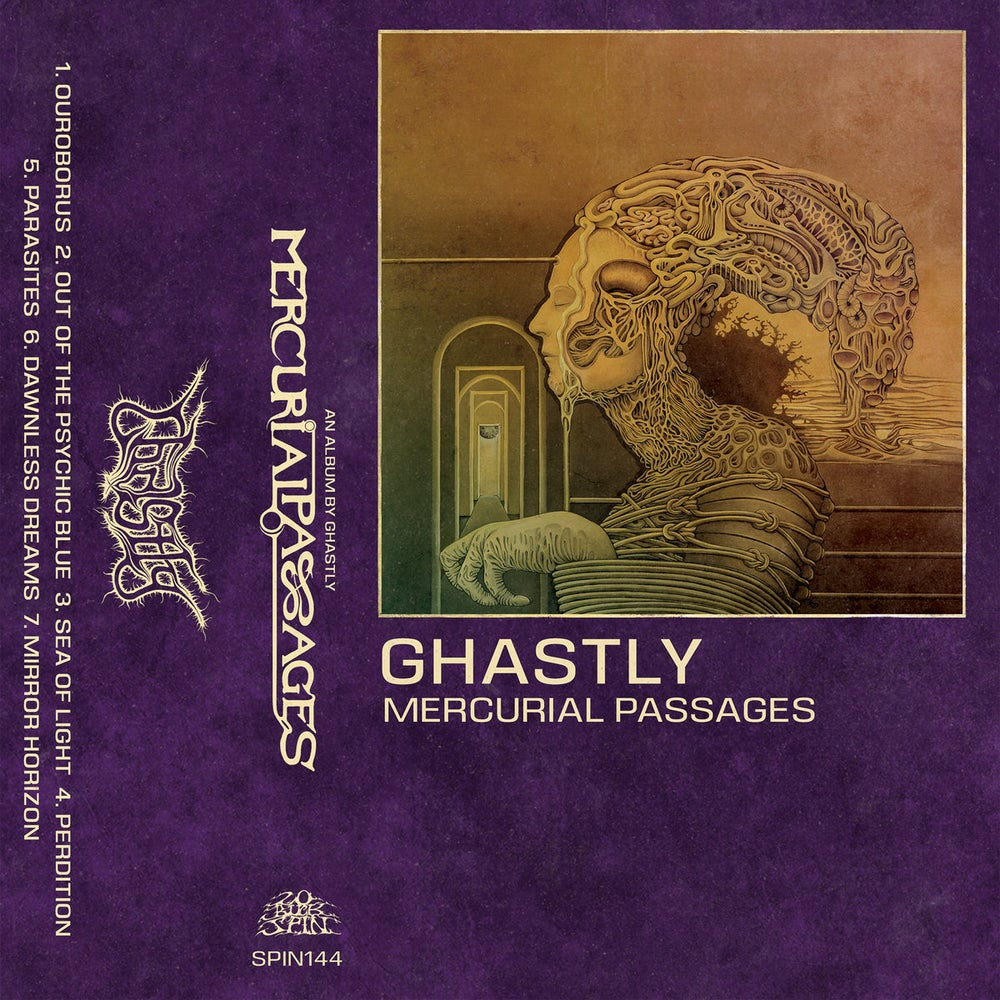 Image of Ghastly - Mercurial Passages Cassette