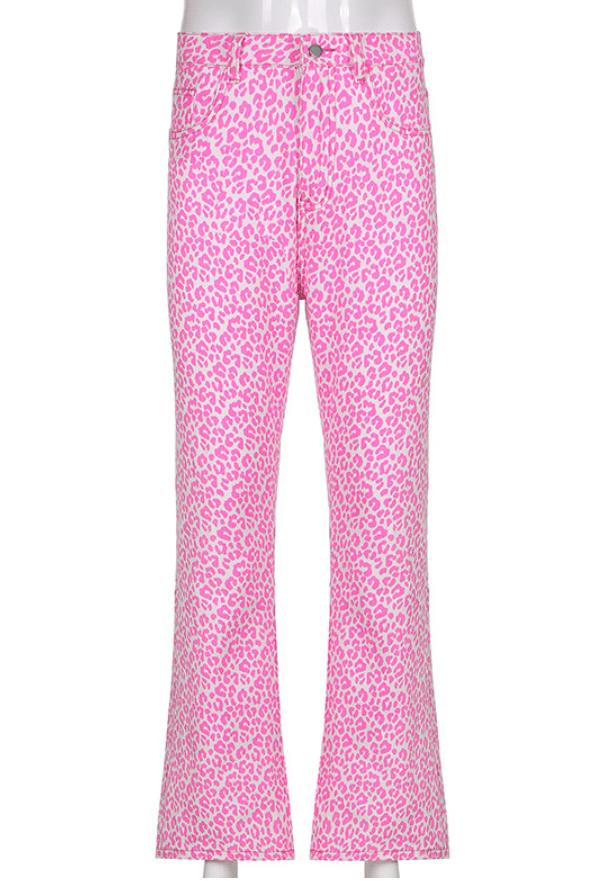Image of Annika Leopard Jeans
