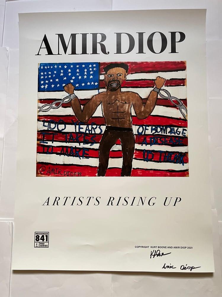 Image of Messenger 841 Pro x Amir Diop Poster
