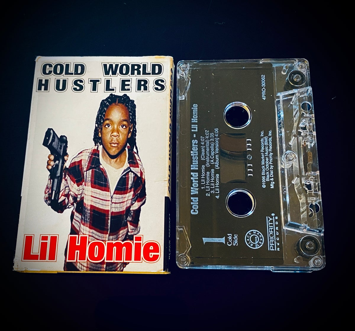 """Image of  Cold World Hustlers """" Lil Homie� maxi"""