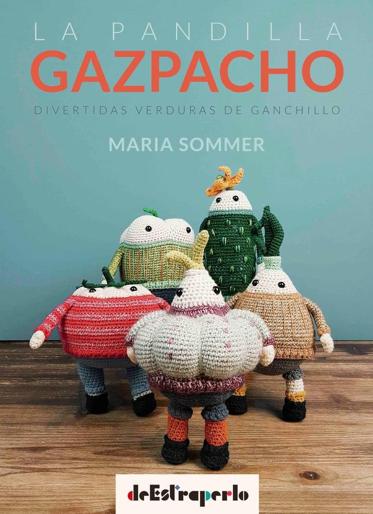 Image of La Pandilla Gazpacho, divertidas verduras de ganchillo