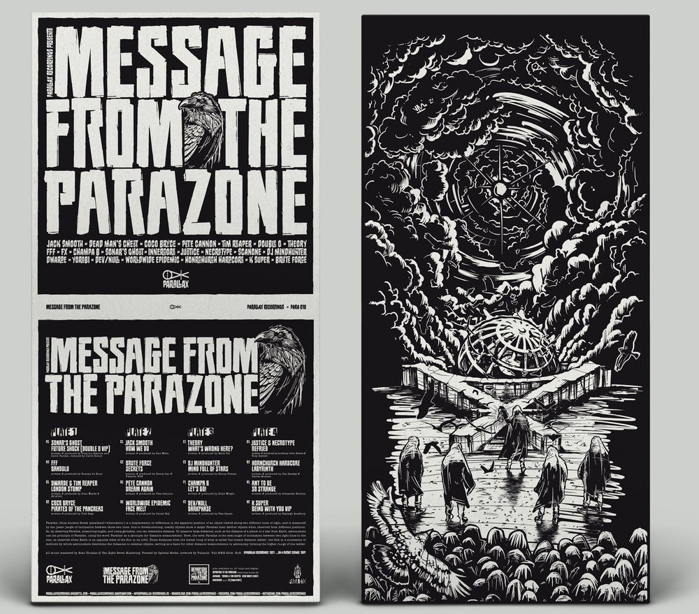 """Image of Message From The Parazone 4x12"""""""