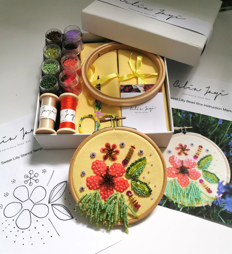 Image of The Sweet Lilly Bead Box