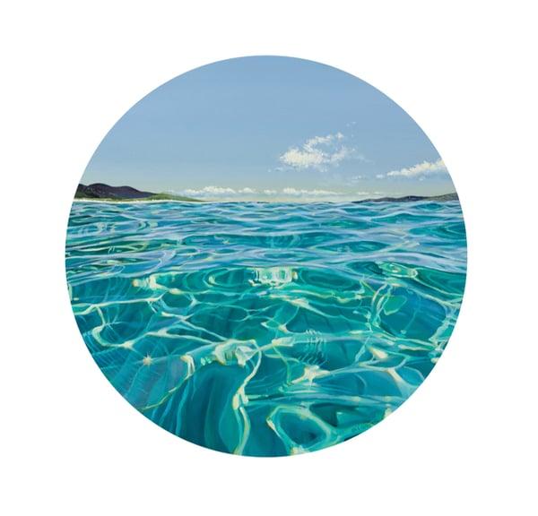 Image of Luskentyre calm Harris giclee print