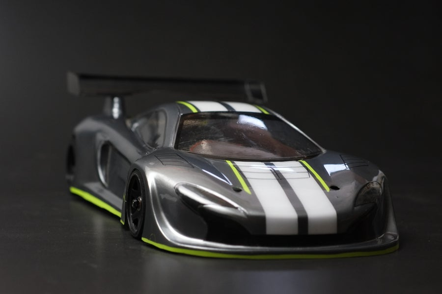 Image of Phat Bodies - GTM - 1/12th LMP and GT12 bodyShell for Zen RXGT12 and Schumacher Atom
