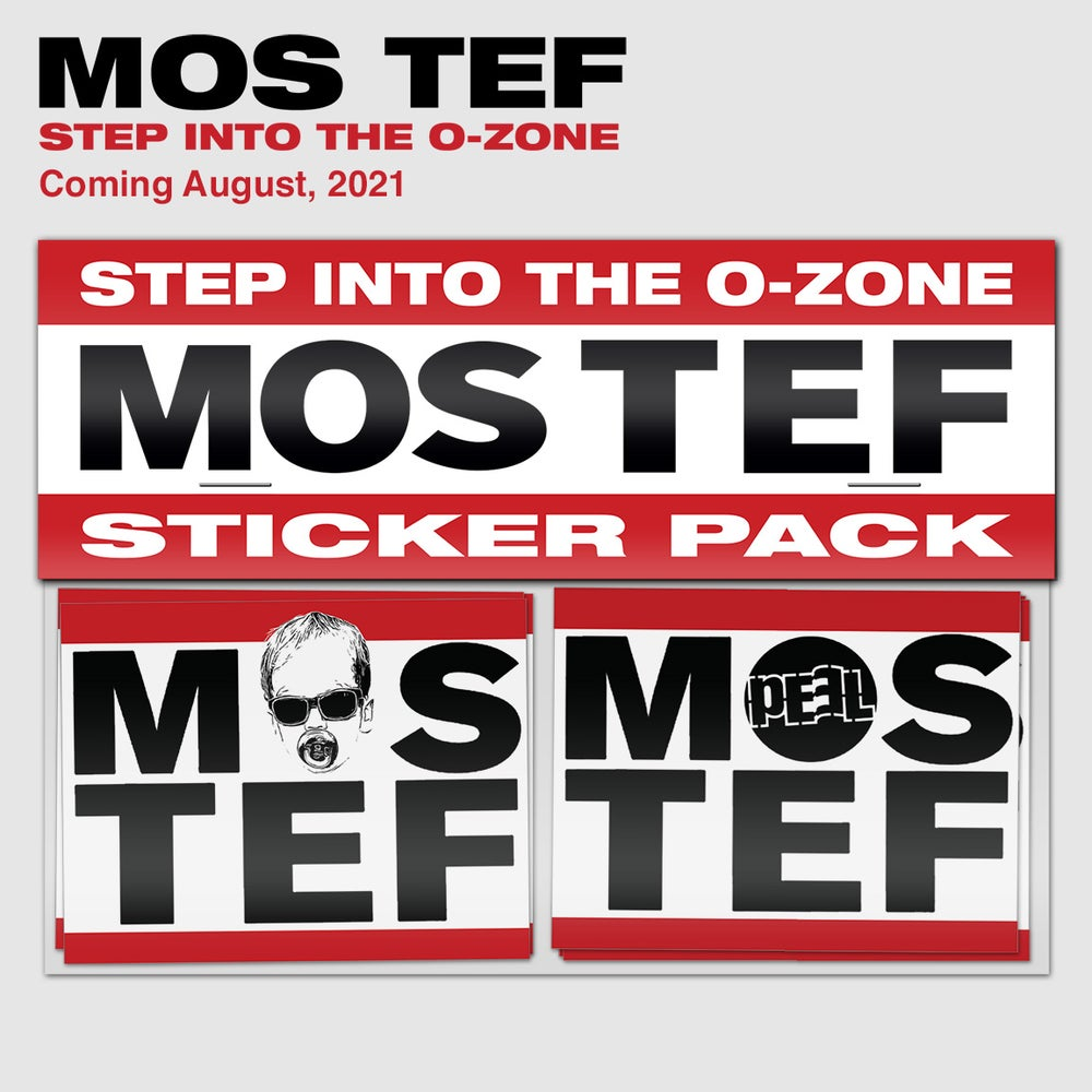 Image of MOS TEF: Step into the O-Zone Sticker Pack