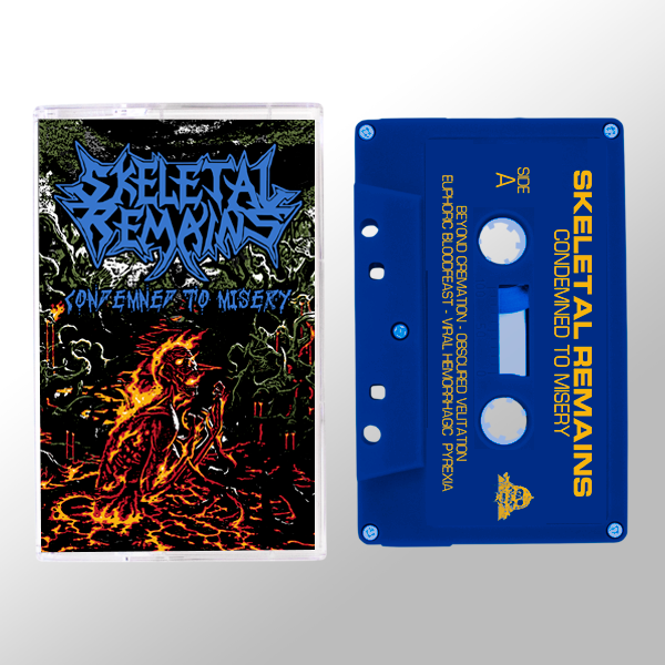 Condemned To Misery Tape + Pin