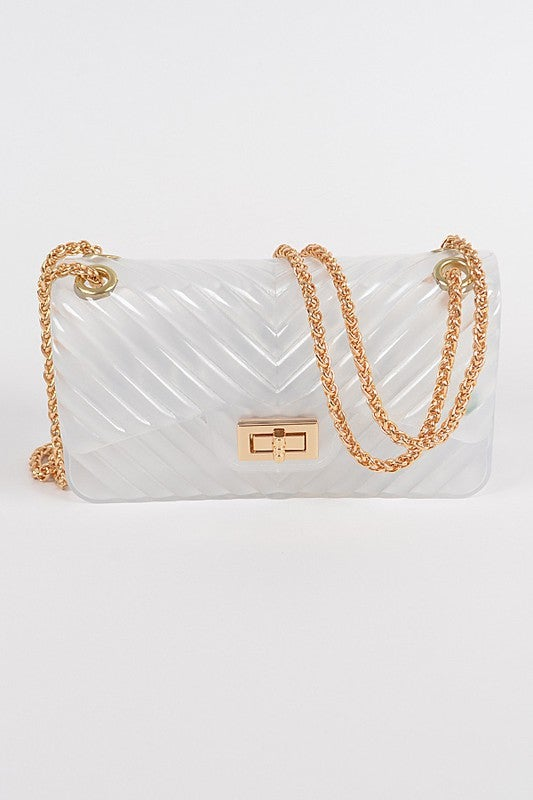 Image of Solid Color Jelly Bag #2