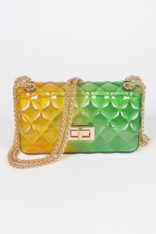 Image of  Multi Color Jelly Bag #1
