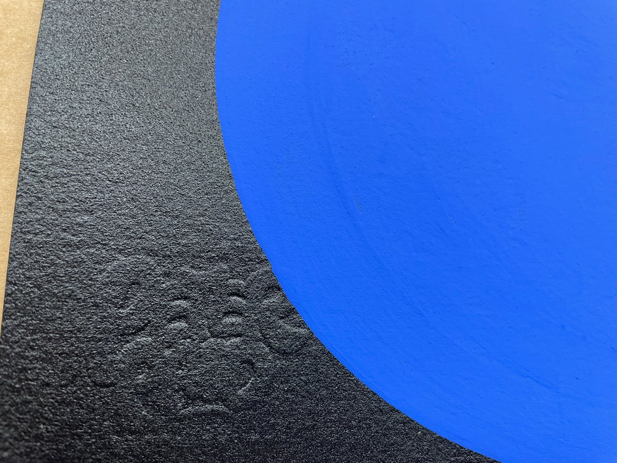 Image of Big Blue S - Archival Paper