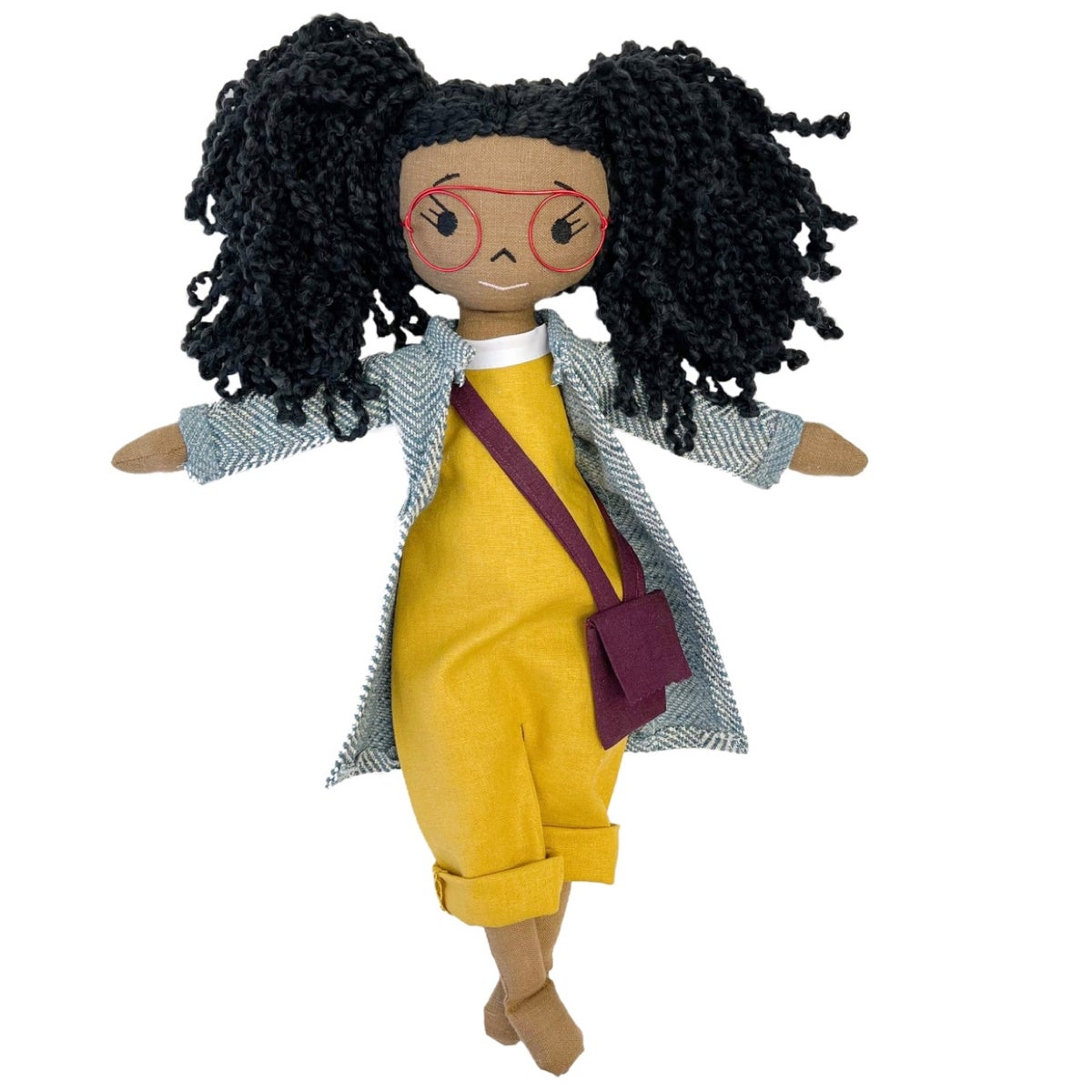 Lulu X Handmade Linen Doll (THIS ITEM WILL SHIP ON OR BEFORE OCTOBER 10th)