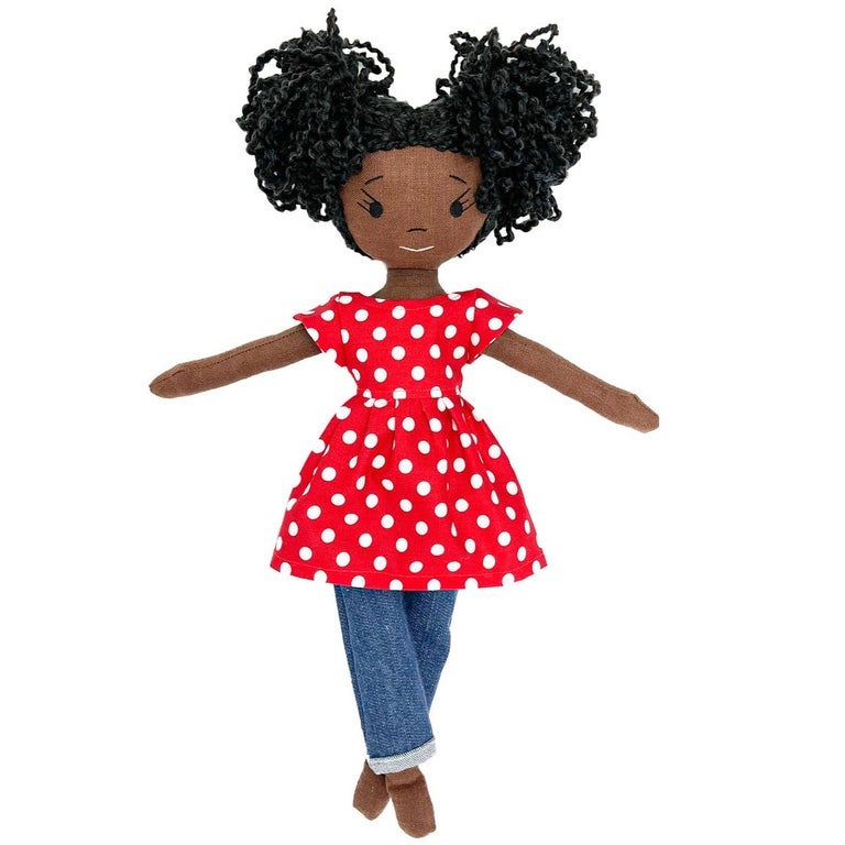 Chloe Handmade Linen Doll (THIS ITEM WILL SHIP ON OR BEFORE OCTOBER 10th)