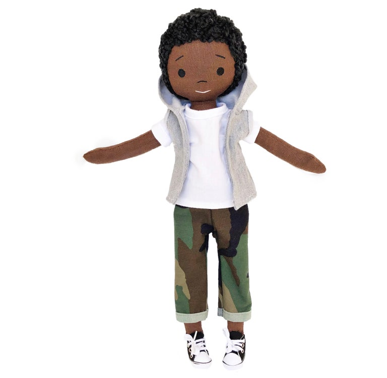 Mason Handmade Linen Doll (THIS ITEM WILL SHIP ON OR BEFORE OCTOBER 10th)