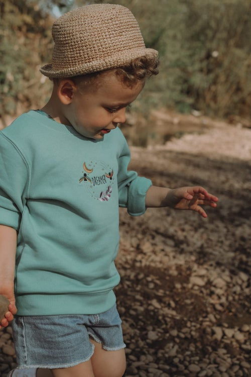 Image of Fireflies - Teal Sweater