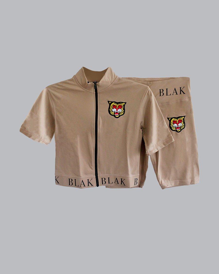 Image of The BLAK Pretty Brown Womens Trackset