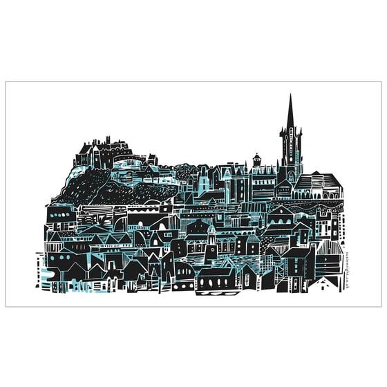 Image of Edinburgh City tea towel
