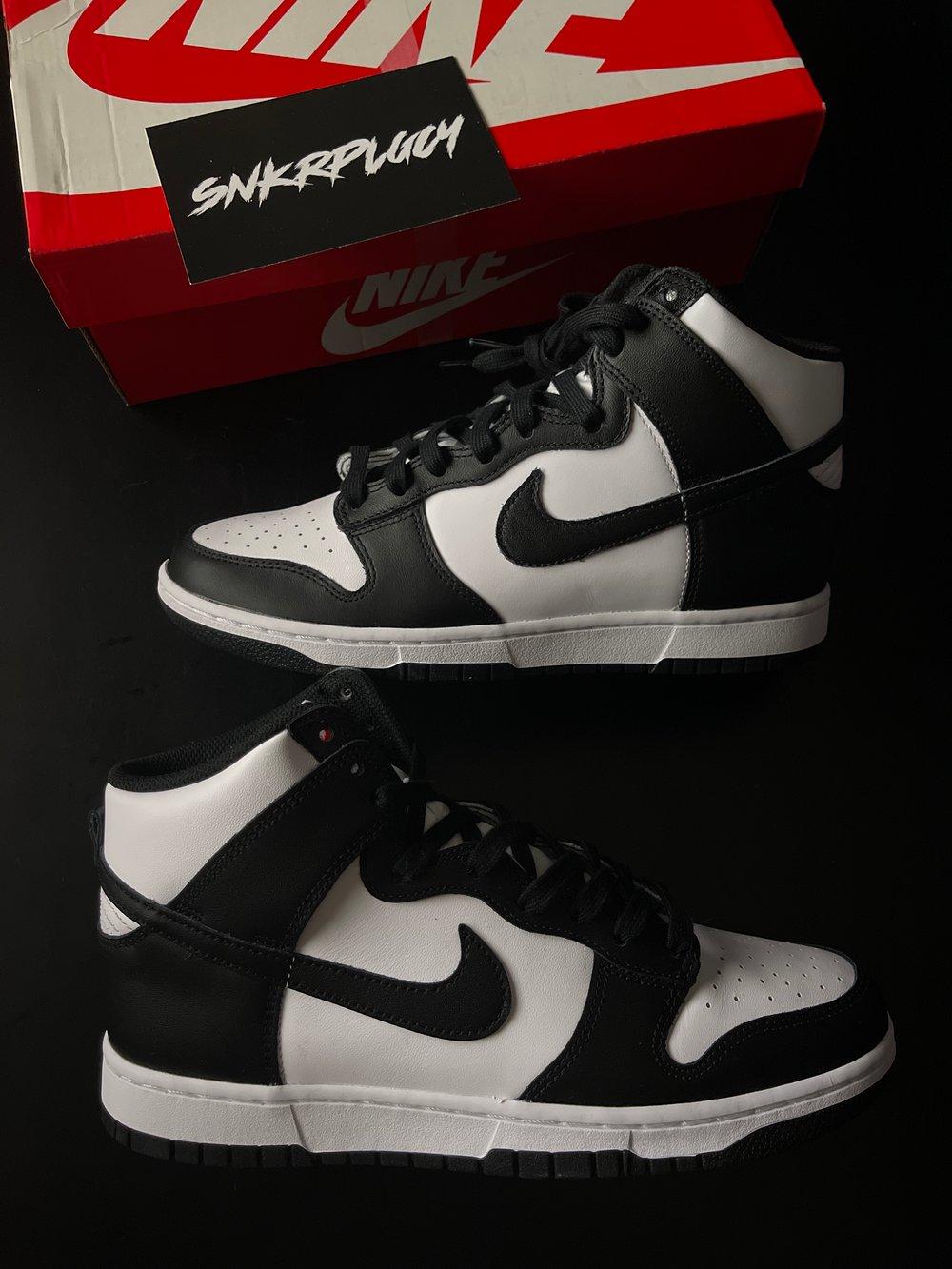 "Nike Dunk High ""Panda"" Black / White"