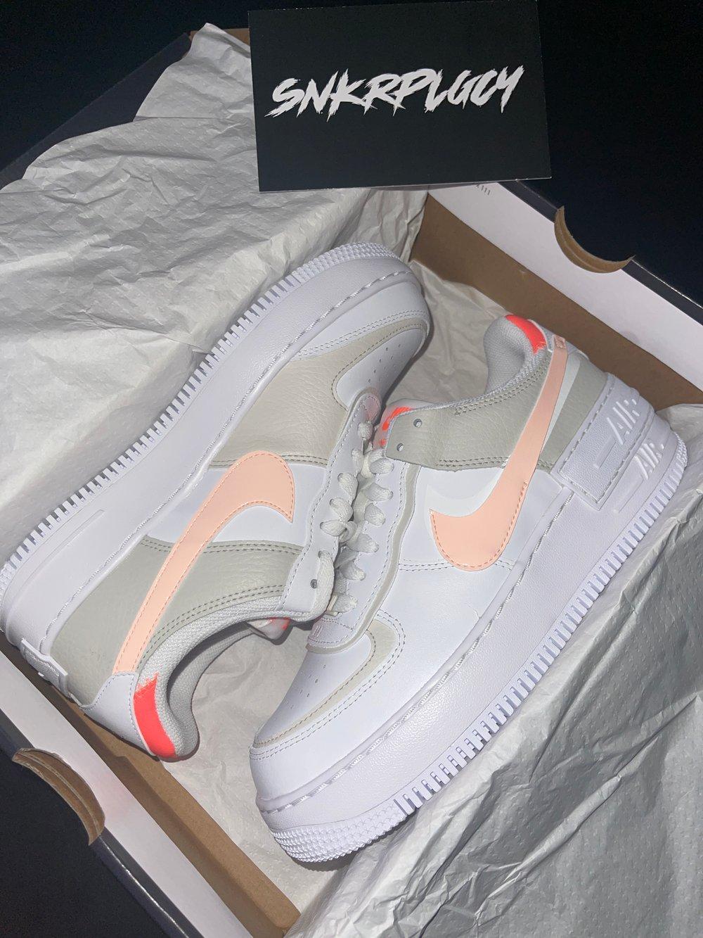 """Nike Air Force 1 Shadow """"White / Crimson Tint"""""""