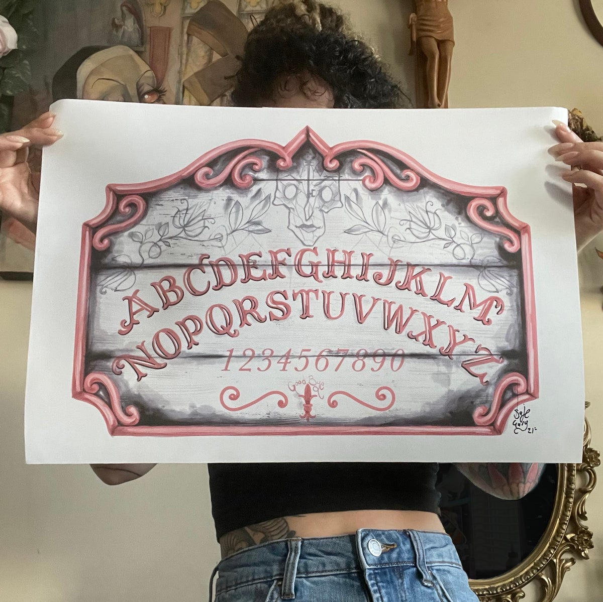 """Image of Other Mother Ouija 13x19"""" Limited run print"""