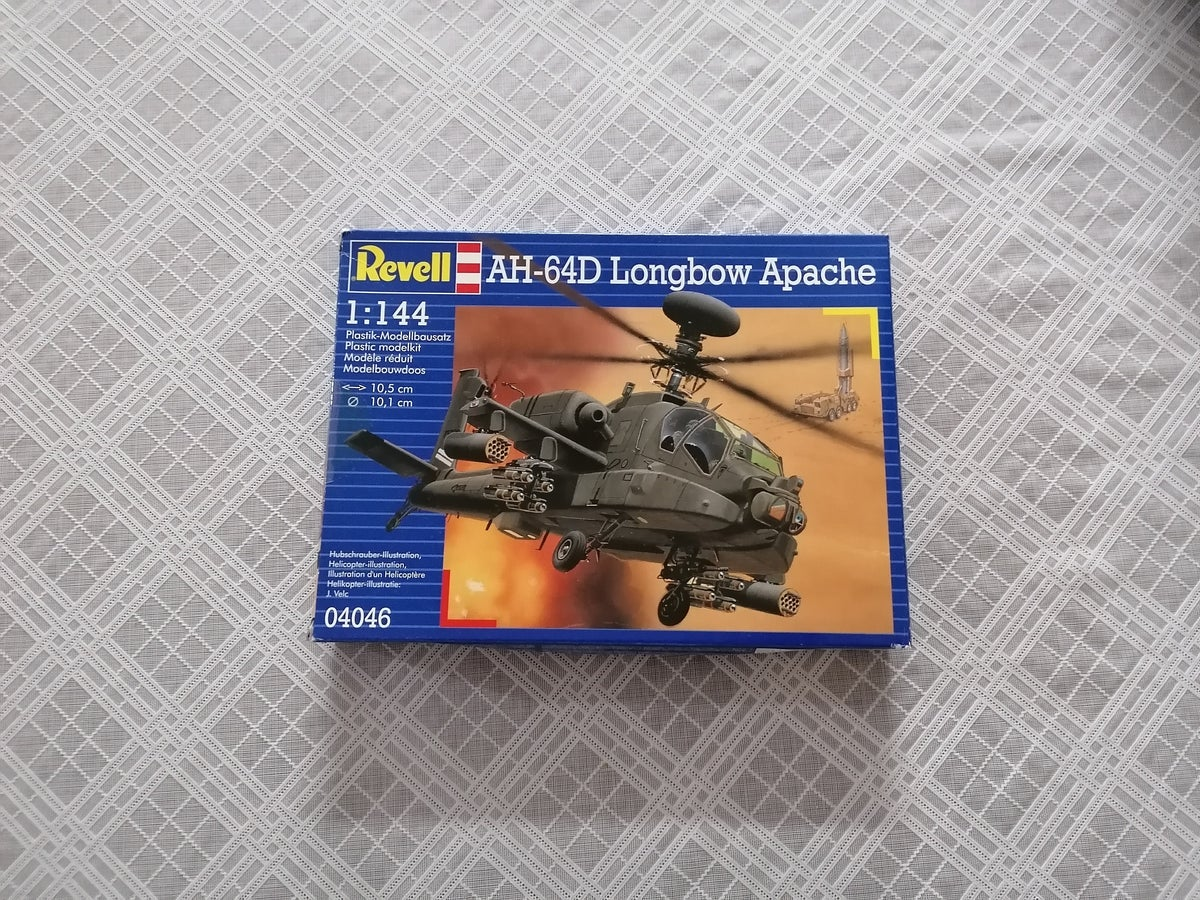 Image of REVELL 1/144 AH-64D LONGBOW APACHE 04046