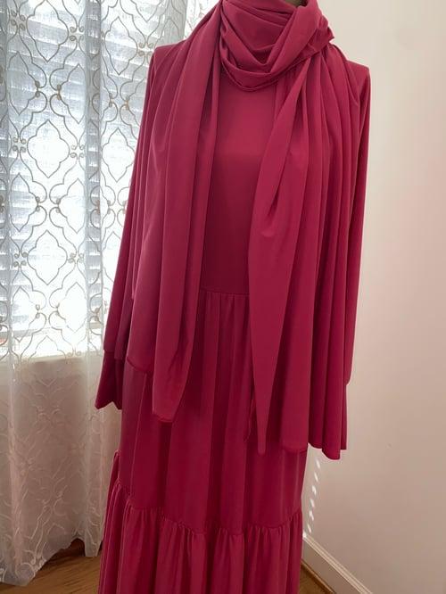 Image of Pink Tier Garment